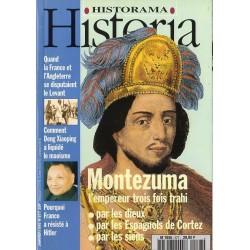 Historia n° 577 - Montezuma, l'empereur trois fois trahi
