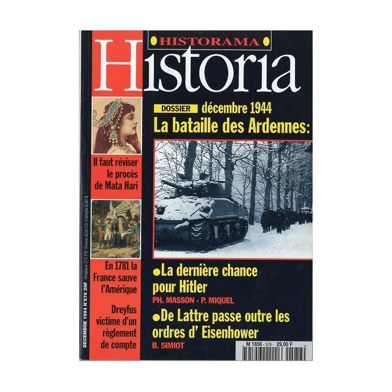 Historia n° 576 - Décembre 1944, la Bataille des Ardennes