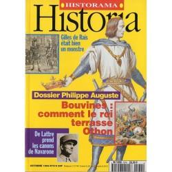 Historia n° 574 - Philippe Auguste - Bouvines : comment le roi terrasse Othon