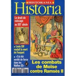 Historia n° 573 - Les combats de Moïse contre Ramsès II
