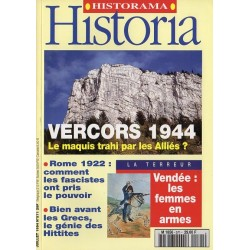 Historia n° 571 - Vercors 1944, la maquis trahi par les Alliés ?