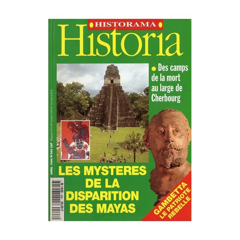 Historia n° 568 - Les mystères de la disparition des Mayas