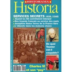 Historia n° 567 - Services secrets 1939/1945