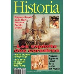 Historia n° 564 - Les exploits des corsaires