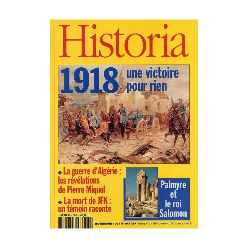 Historia n° 563 - 1918 une victoire pour rien