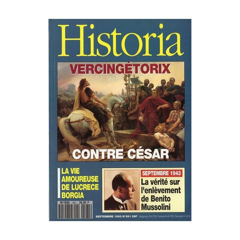 Historia n° 561 - Vercingétorix contre César
