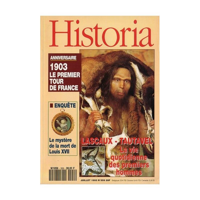 Historia n° 559 - Lascaux - Tautavel, la vie quotidienne des premiers hommes