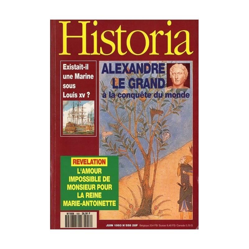 Historia n° 558 - Alexandre le Grand à la conquête du monde