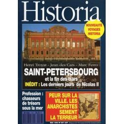 Historia n° 557 - Saint-Pétersbourg et la fin des tsars