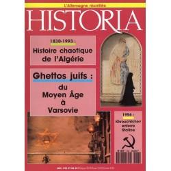 Historia n° 556 - Ghettos juifs : du Moyen Age à Varsovie