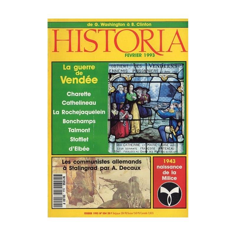 Historia n° 554 - La Guerre de Vendée