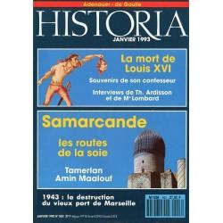Historia n° 553 - Samarcande, les routes de la soie
