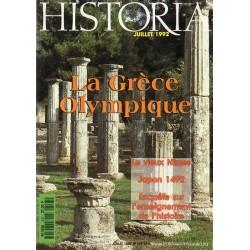 Historia n° 547 - la Grèce Olympique