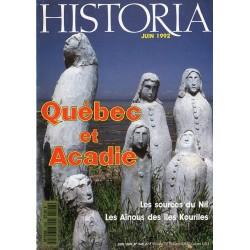 Historia n° 546 - Québec et Acadie