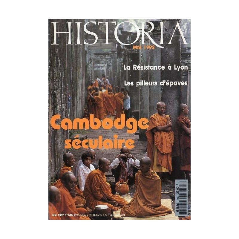 Historia n° 545 - Cambodge séculaire