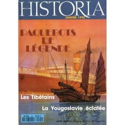 Historia n° 541 - Paquebots de Légende