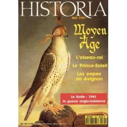 Historia n° 533 - Moyen Age : L'oiseau-roi ; le Prince-Soleil ; Les papes en Avignon