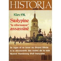 """Historia n° 530 - Kiev 1911, Stolypine """"le réformateur"""" assassiné"""
