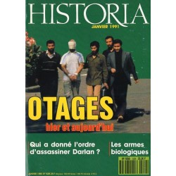 Historia n° 529 - Otages hier et aujourd'hui