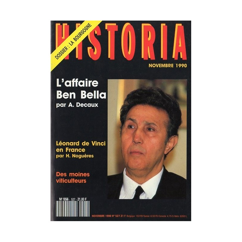 Historia n° 527 - L'affaire Ben Bella par A. Decaux