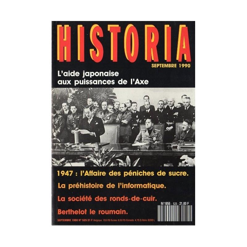 Historia n° 525 - L'aide japonaise aux puissances de l'Axe