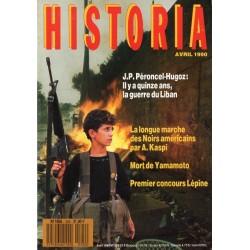 Historia n° 520 - Il y a quinze ans, la guerre du Liban