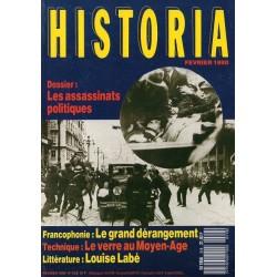 Historia n° 518 - Les assassinats politiques