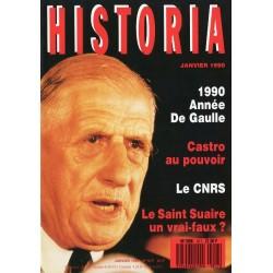 Historia n° 517 - 1990 Année De Gaulle