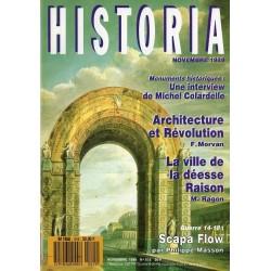 Historia n° 515 - Monuments historiques, Architecture et Révolution