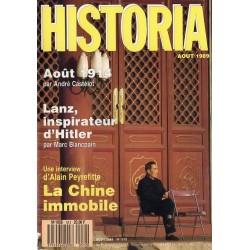 Historia n° 512 - La Chine immobile ; Lanz, inspirateur d'Hitler