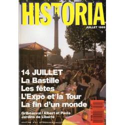 Historia n° 511 - 14 juillet, la Bastille, Les fêtes, L'expo et la Tour, La fin d'un monde
