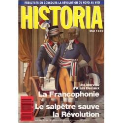 Historia n° 509 - La Francophonie, une interview d'Alain Decaux