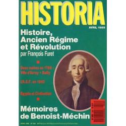 Historia n° 508 - Histoire, Ancien Régime et Révolution