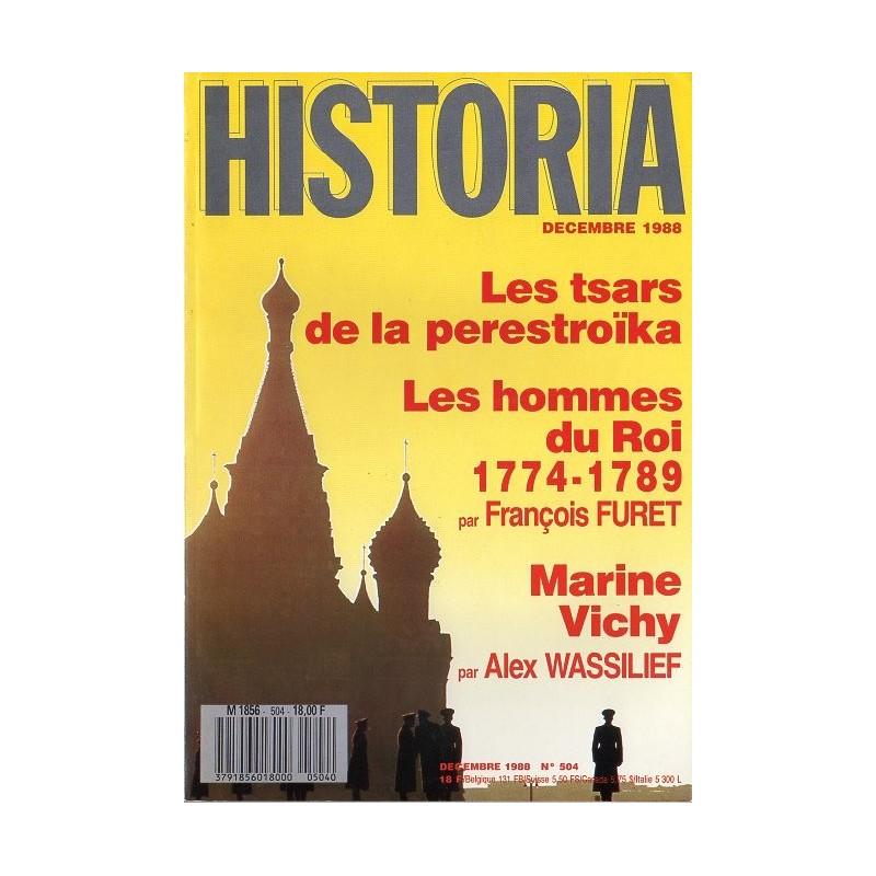Historia n° 504 - Les tsars de la perestroïka