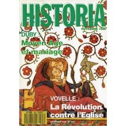 Historia n° 503 - Moyen Age et mariage