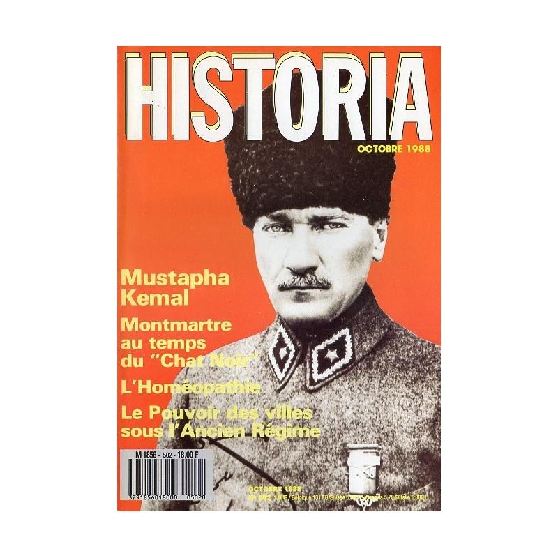 Historia n° 502 - Mustapha Kemal