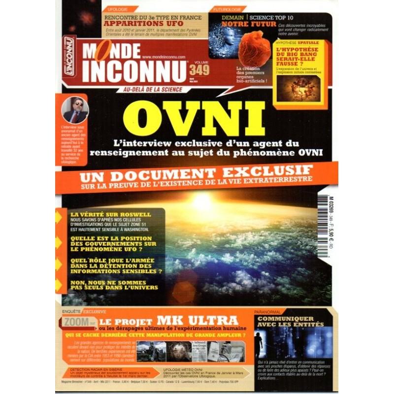 Monde Inconnu n° 349 - OVNI, interview d'un agent du renseignement