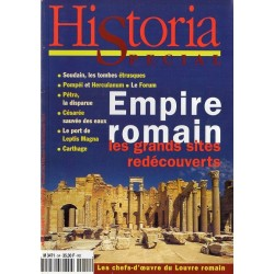 Historia Spécial n° 54 - Empire Romain, les grands sites redécouverts