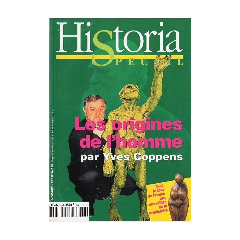Historia Spécial n° 50 - Les origines de l'homme par Yves Coppens