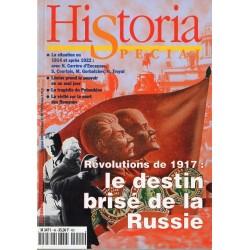 Historia Spécial n° 49 - Révolutions  de 1917 : le destin brisé de la Russie