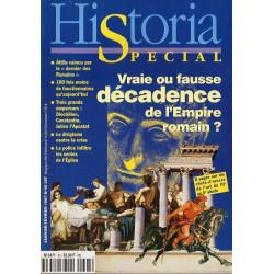 Historia Spécial n° 45 - Vraie ou fausse décadence de l'Empire romain ?