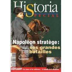 Historia Spécial n° 43 - Napoléon stratège : ses grandes batailles