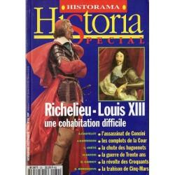 Historia Spécial n° 32 - Richelieu-Louis XIII, une cohabitation difficile