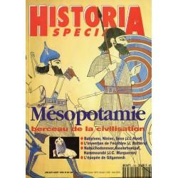 Historia Spécial n° 24 - Mésopotamie, berceau de la civilisation