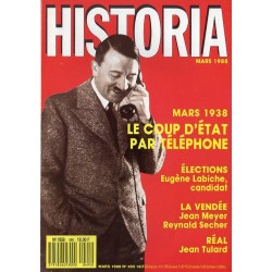 Historia n° 495 - Mars 1938 : le coup d'État par téléphone