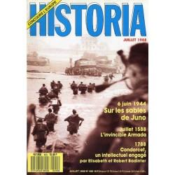 Historia n° 499 - 6 Juin 1944 Sur les sables de Juno