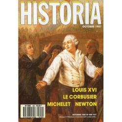 Historia n° 490 - Louis XVI - Le Corbusier - Michelet - Newton