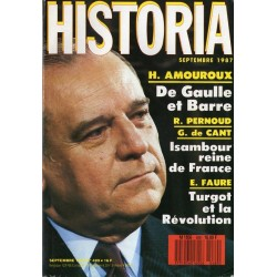 Historia n° 489 - De Gaulle écoute Raymond Barre