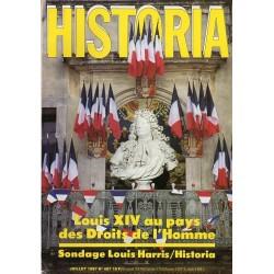 Historia n° 487 - Louis XIV au pays des Droits de l'Homme