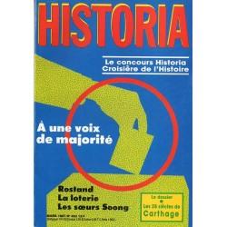 Historia n° 483 - A une voix de la majorité